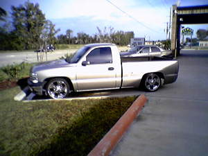 Houston 2000 Chevy 20 Inch Rims Air Bag Suspension