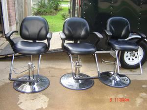 Pearland salon equipment chairs dryers and cabinets for A m salon equipment